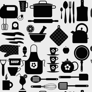 2f098e9c7 Papel de Parede Cozinha preto e branco 12 - comprar online