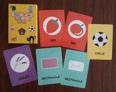 SHAPES AND COLOURS - CARTAS EDUCATIVAS INGLES