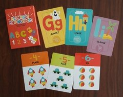 ALPHABET AND NUMBERS - CARTAS EDUCATIVAS EN INGLES
