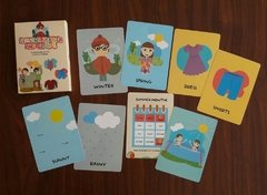 SEASONS, WEATHER AND CLOTHES - CARTAS EDUCATIVAS INGLES