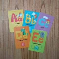 ABC Y NUMEROS - CARTAS EDUCATIVAS en internet