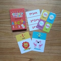 ABC Y NUMEROS - CARTAS EDUCATIVAS - comprar online