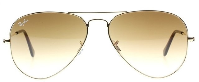 Anteojos Ray Ban Aviador 3025 001 51 MARRON DEGRADE - comprar online ... 580324a09b