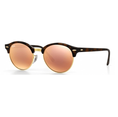 ANTEOJOS RAY BAN clubround 4246 carey rosa espejado