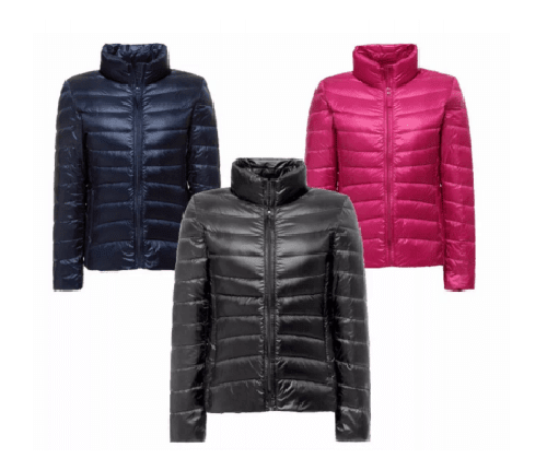 Campera uniqlo mujer pluma Ultra Light Weight  envio gratis