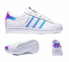 Zapatillas adidas superstars tornasoladas