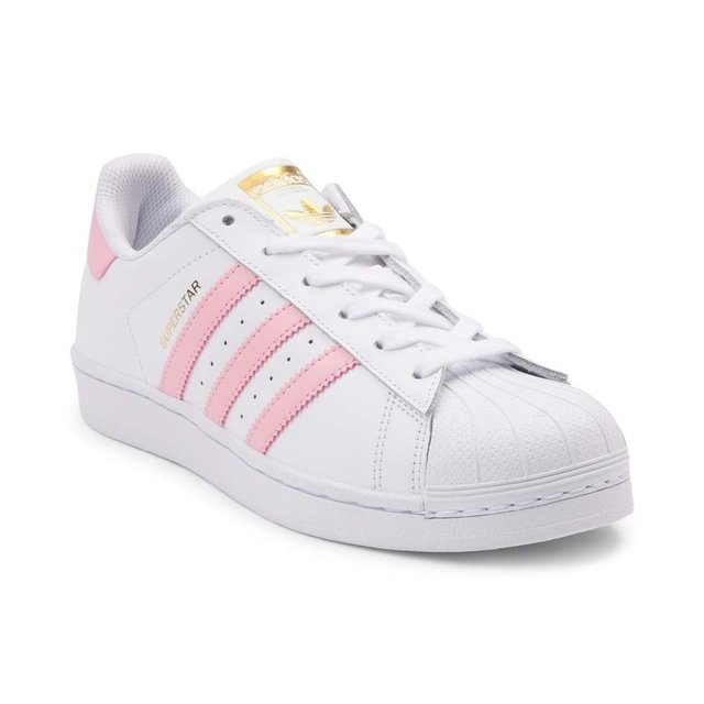ZAPATILLAS ADIDAS SUPERSTAR TIRAS ROSAS