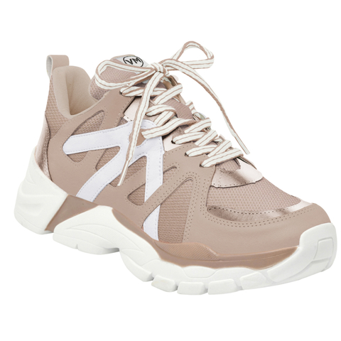 Tenis VIA MARTE 202390 Sinte Rose Rouge Rose Branco