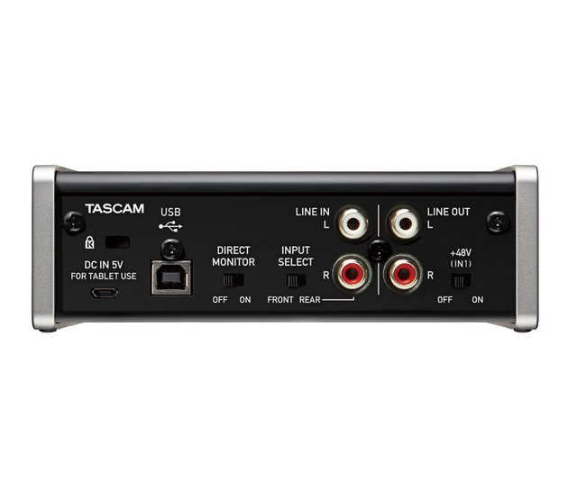 Interface Tascam US-1x2