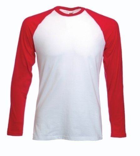 f14f667682 Camiseta Raglan Manga Longa Colorida P  Sublimação Transfer
