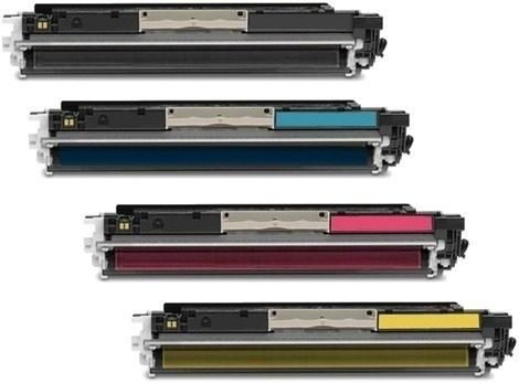 COMBO 4 TONERS ALTERNATIVOS PARA IMPRESORA HP LASER COLOR CP1025NW