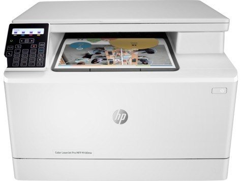 Multifunción Laser Color Copiadora Impresora Hp Pro M180nw