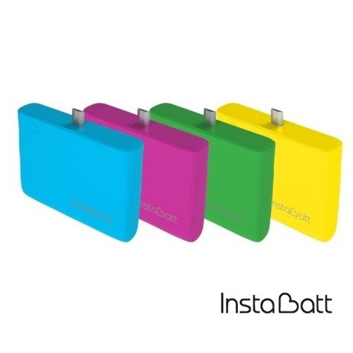 Instabatt Cargador Portátil Power Bank Iphone 1200mha Color en internet