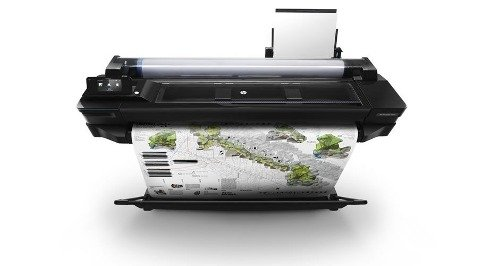 Plotter Hp Designjet T520 Pc Mac 91,4cm 36 Pulgadas Wifi Red