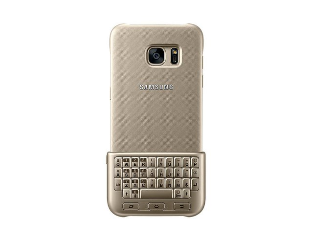 Funda Teclado Samsung Original Keyboard Cover Gold S7 Edge - comprar online