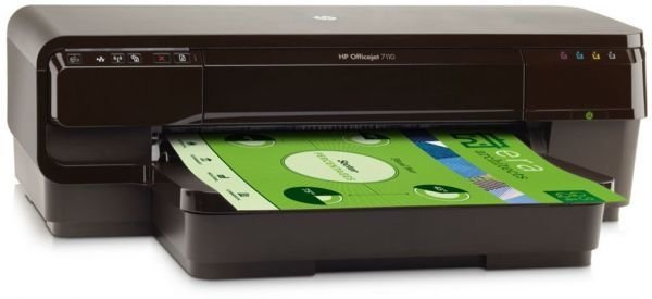 Impresora A3 Hp Eprint Officejet 7110 Color Tinta Wifi Movil