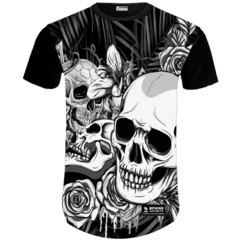 Camiseta Caveira Black