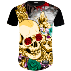 Camiseta Caveira Loca Yellow