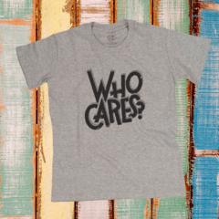 WHO CARES? - comprar online