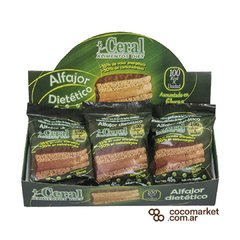 Alfajor light Ceral negro x tres