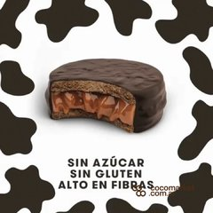 Alfajor de Dulce de Leche sin azucar s/tacc Happy Food