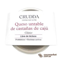 Quesos Untable Vegano Crudda 180gr en internet