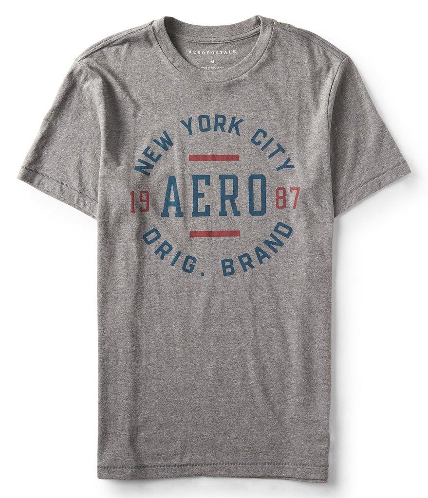 0f51d717e0 Camiseta Aéropostale Cinza - GG