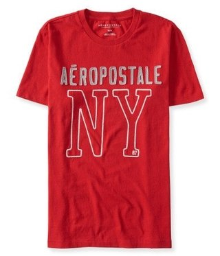 Big NY Logo Graphic T Red - P