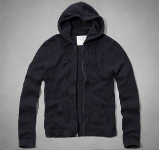 Abercrombie & Fitch Mens Navy Newcom...