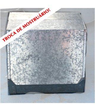 Coifa em zinco