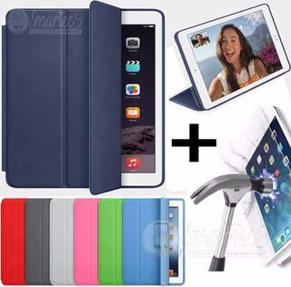 Smart Case Original Ipad Mini 1 2 3 Funda + Vidrio Templado