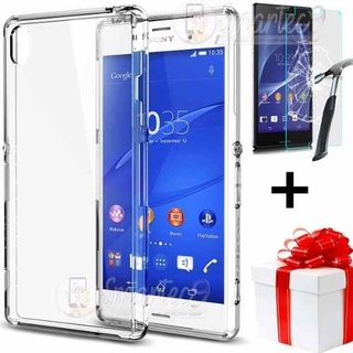 Funda Sony Z3+ Plus Z4 Xperia Tpu Fino 0.33mm + Film Vidrio
