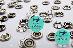 100 Broche Doble aro 11mm - comprar online