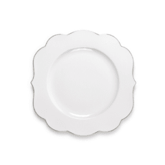 Plato de Postre Blanco Liso Royal White Collection I 23,5 cm I