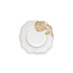 Plato Postre Royal White Collection I 17 cm I