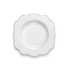 Plato Hondo Royal White Collection I 23,5 cm I