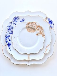 Plato Principal Royal White Collection I 28 cm I - Pick a Plate
