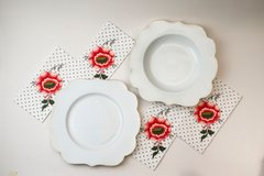 Plato Hondo Royal White Collection I 23,5 cm I - Pick a Plate