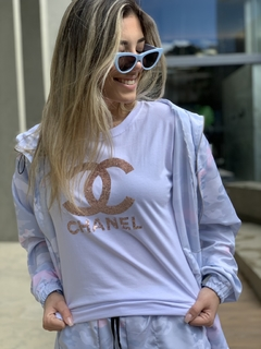 T-shirt Chanel Bordada