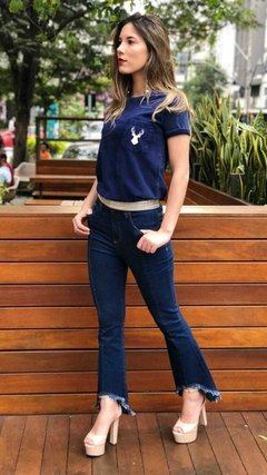 T-shirt Jeans Alce Bolso