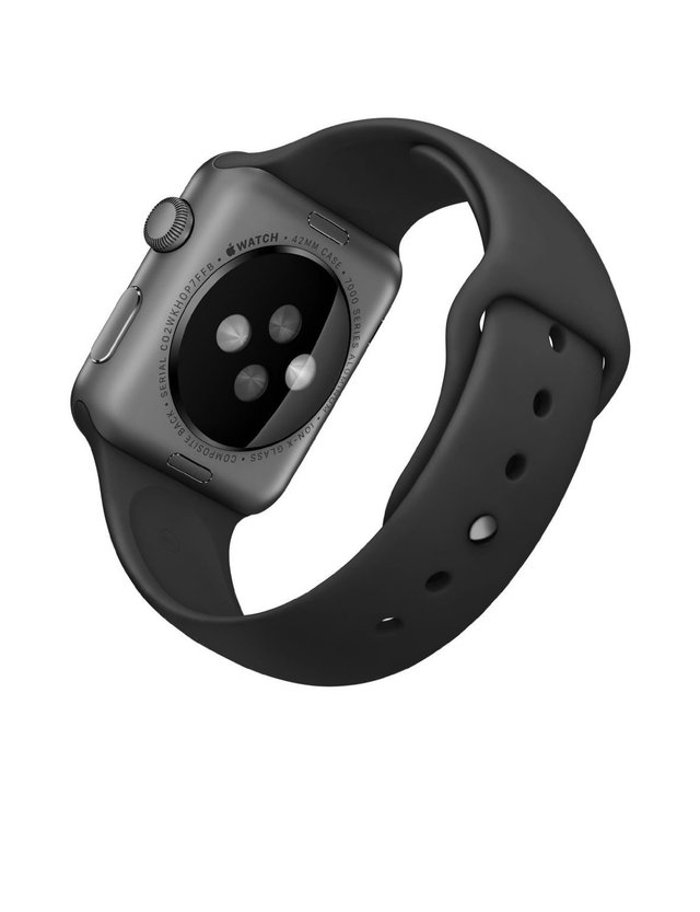 Apple Watch Serie 1 42mm (Space Grey) na internet
