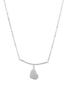 COLLARES A. B. BARRA CORAZON ESLABONES SIMPLE - COB060