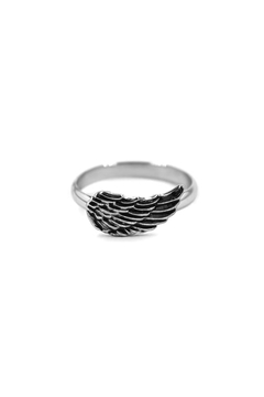 ANILLOS A. Q. ALA RELIEVE/NEGRO (ANQ013)