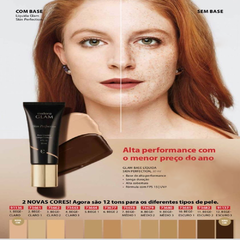 Base Skin Perfection Eudora - Bege Médio 2 na internet