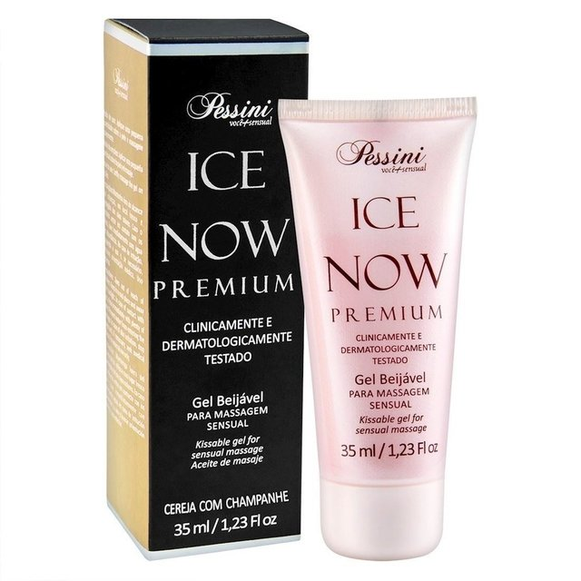 ICE NOW PREMIUM - GEL BEIJAVEL