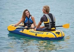 Intex Challenger 2, Bote Inflable Para 2 Personas