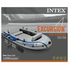 Intex Excursion 4, Bote Inflable Para 4 Personas - Exclusive Shop