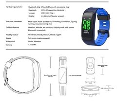 F4 Bluetooth Smart Sport Band Salud-clima Cardio en internet