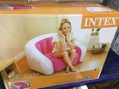 Sillon Inflable Puff Fiaca Intex Empire Base Reforzada