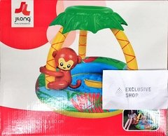 Gimnasio Bebe Pelotero Pileta Inflable Jilong Monito 17044 - Exclusive Shop